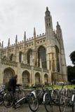 Vélos d'étudiant à Cambridge Photos libres de droits