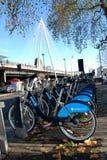Vélos de Boris Photos libres de droits
