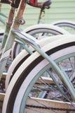 Vélos de plage Images libres de droits