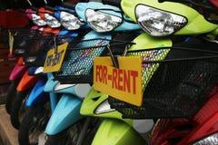 Vélos pour le loyer Images libres de droits