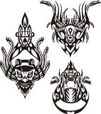 Vélos tribals. Images stock
