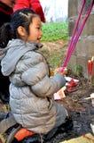 Vénération d'ancêtre en Chine photo libre de droits