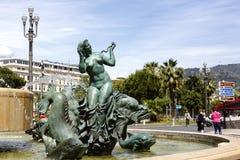 Vénus de Fontaine du Soleil à Nice Photographie stock