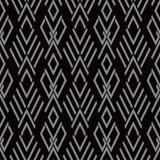 Vérification des antécédents sans couture antique Diamond Cross Geometry Frame illustration libre de droits