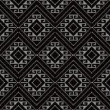 Vérification des antécédents sans couture antique Diamond Spiral Cross Frame Dot Image stock