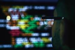 Vérification du code de programmation photographie stock libre de droits