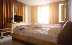 Vérifiez la chambre d'hôtel Photos libres de droits