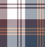 Vérifiez le modèle de tissu - chemise Photographie stock libre de droits