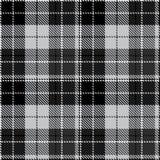 Vérifiez le textil gris noir de tissu photos stock