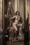 Vérité dévoilée par temps par Gian Lorenzo Bernini Image libre de droits
