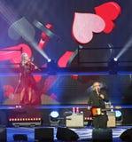Vérone, Italie - 14 octobre 2017 : Live Concert d'Umberto Tozzi Photographie stock libre de droits