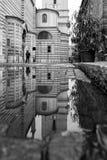 Vérone, Italie, pont en pierre, le vieux château, vue panoramique Photographie stock