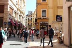 Vérone, ville d'histoire d'amour immortelle ` Romeo et Juliet Image libre de droits