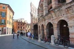 Vérone, ville d'histoire d'amour immortelle ` Romeo et Juliet Photographie stock libre de droits