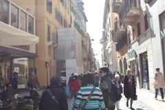 Vérone, ville d'histoire d'amour immortelle ` Romeo et Juliet Image stock