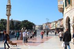 Vérone, ville d'histoire d'amour immortelle ` Romeo et Juliet Photo stock