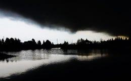 Véspera da tempestade Fotografia de Stock Royalty Free