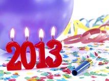 Véspera de Ano Novo 2013 Imagens de Stock Royalty Free