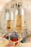 Véspera de Ano Novo Fotos de Stock Royalty Free