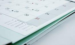 31 véspera de Ano Novo, as preparações de ano novo Fotos de Stock