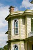 Véspera do Victorian e chimeny imagem de stock