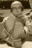 Vétéran américain Photos stock