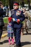 Vétéran de la grande guerre patriotique Images libres de droits
