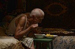 Vétéran de la guerre mondiale de Vieux Monde 2 image stock