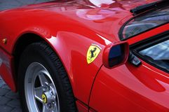 Vétéran - Ferrari Photographie stock libre de droits