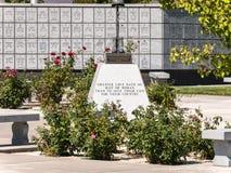 Vétérans cimetière commémoratif, Fernley, Nevada images libres de droits