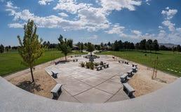 Vétérans cimetière, Fernley, Nevada image stock