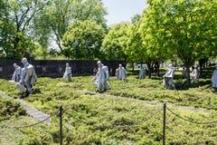 Vétérans de Guerre de Corée commémoratifs Images libres de droits