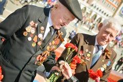 Vétérans de la deuxième guerre mondiale Images libres de droits