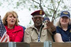 Vétérans des USA Images stock