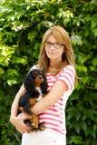 Vétérinaire féminin Photo libre de droits