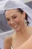 Véu feliz Fotos de Stock Royalty Free