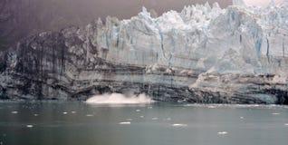 Vêlage d'iceberg Photos libres de droits