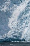 Vêlage de glace Image libre de droits