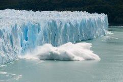 Vêlage de glace Photographie stock