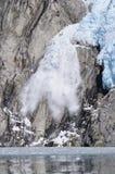 Vêlage du nord-ouest de glacier Photos libres de droits
