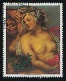 Vênus na forja de Vulcan por Rubens Fotografia de Stock
