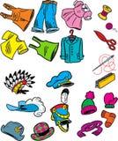Vêtement illustration stock