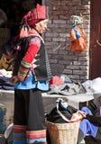 Vêtement coloré du Hani Photo stock