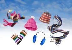 Vêtement de l'hiver Photos stock
