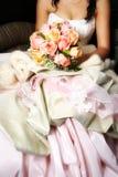 Vêtement de mariage Photographie stock libre de droits