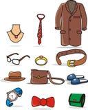 Vêtement et accessoires illustration de vecteur