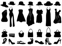 vêtement femelle Images libres de droits