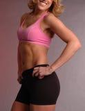 Vêtement femelle 2 de forme physique Photographie stock libre de droits