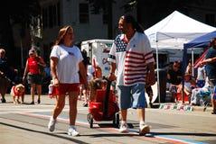 Vêtement patriotique Images libres de droits