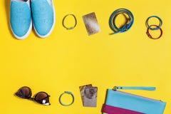 Vêtements élégants pour la femme Photographie stock